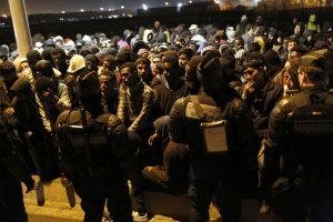 Evacuation of 'Jungle' migrant camp in Calais